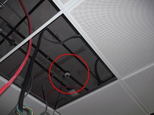 transducer-false-ceiling