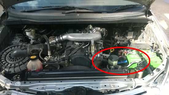 avoid rats  toyota innova car install varna rat